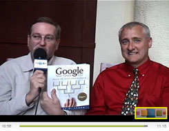 Dick Eastman interviews Dan Lynch at the New England Regional Genealogy Conference in Manchester, New Hampshire (2009)